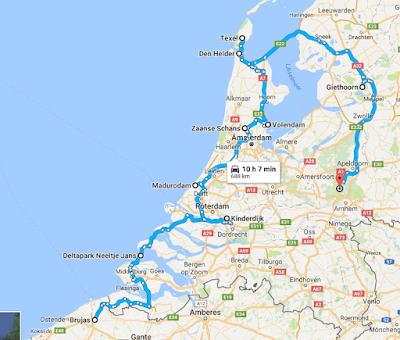 Holanda en autocaravana con niños