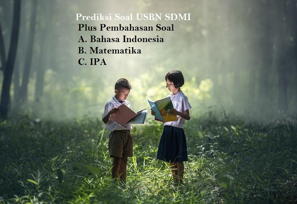 Soal Try Out Usbn Bahasa Indonesia Sd Mi Plus Kunci Jawaban Cara Sunda