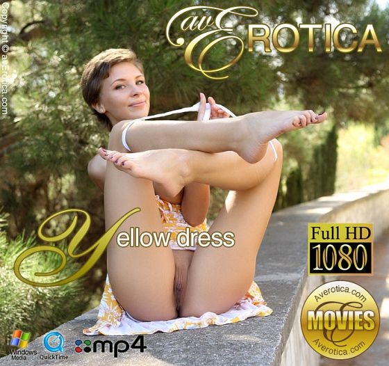 9VIGn3Z5 avErotica - Cecelia - Yellow dress