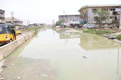 Port Harcourt road, Aba: Three months after flagged-off, no Contractors in sight