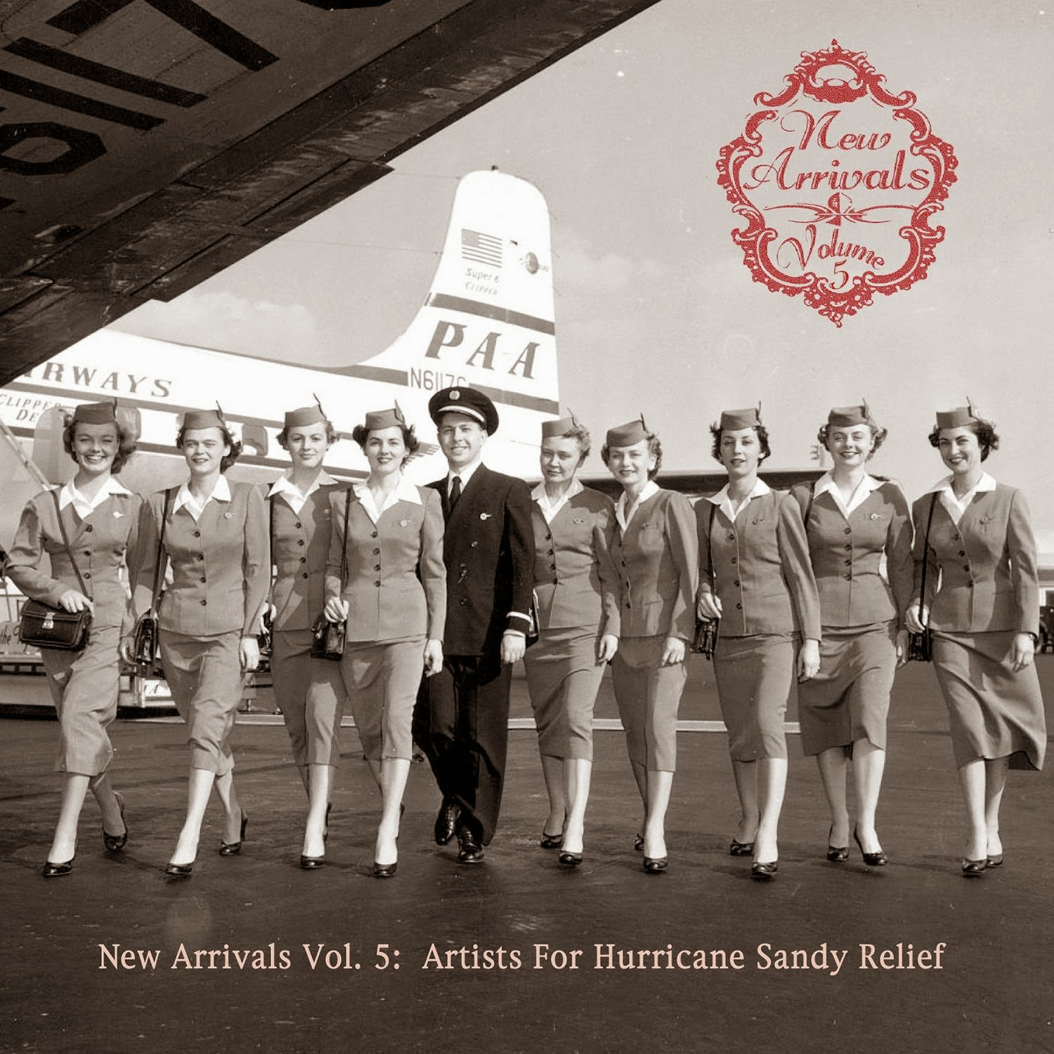 New Arrivals Vol 5: Artists for Hurricane Sandy Relief