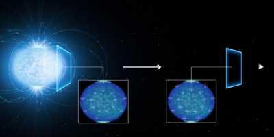 Primeiros sinais da propriedade quantum estranha do espaço vazio?