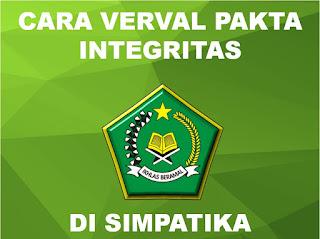 verval pakta integritas