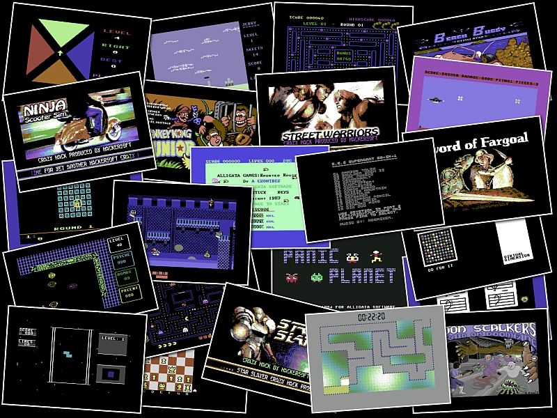 Indie Retro News: C64 big game compilation pack including Nibbler!