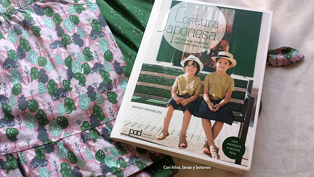 """Con hilos, lanas y botones: Conjunto pantalón pirata y top de tirantes (patrones del libro """"Costura japonesa"""" de Mariko Nakamura)"""