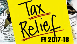 Income-Tax-Relief-for-Individuals-For-FY-2017-18