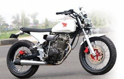 Modifikasi Motor Honda Megapro Japs Style