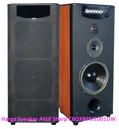 Speaker Aktif Sharp Bluetooth USB Karaoke X Bass