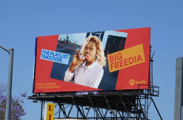Big Freedia Spotify playlist takeover billboard