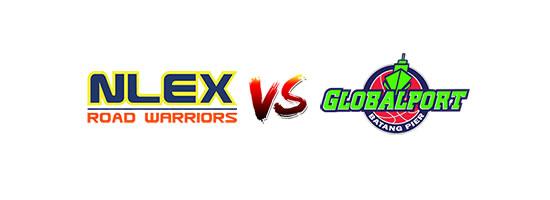 NLEX Road Warriors vs GlobalPort Batang Pier - 3:00pm