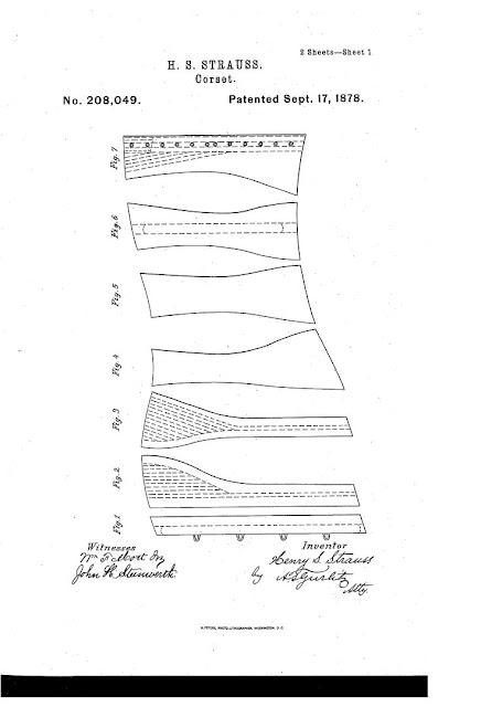 1878 H. S. Strauss Corset