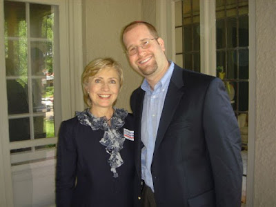 Hillary Rodham Clinton and Rabbi Jason Miller