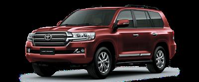 Giá xe Toyota Land Cruiser 2018 ảnh 4
