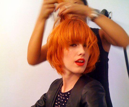 Hair Sweet Like Tangerines The Haircut Web