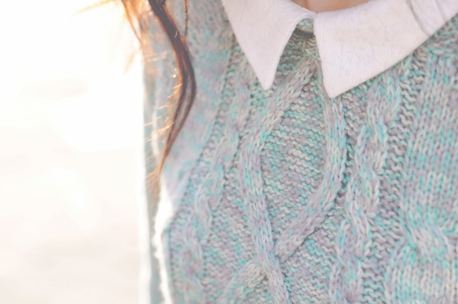 layering up a winter jumper