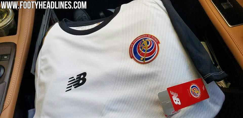 65ae8c6523e Costa Rica 2018 World Cup Home Kit Released + Away Kit Leaked ...