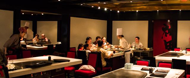 Restaurante Teppan Edo na Disney em Orlando