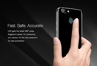 Oukitel U22 fingerprint