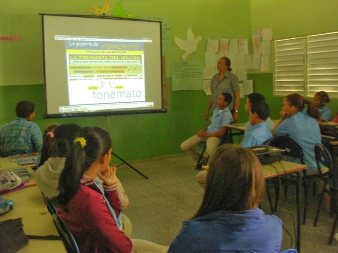 La profesora Miguelina Del Carmen Báez, Integrando las TICs al currículo
