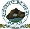 University of Mkar (UNIMKAR) Post-UTME Form 2017/18
