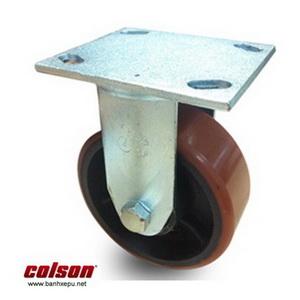 Bánh xe nhựa PU nòng gang chịu tải trọng cao 500kg | S4-6208-959