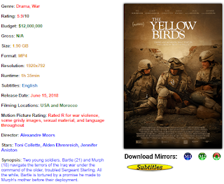 Download The yellow Bird 2017 Movie