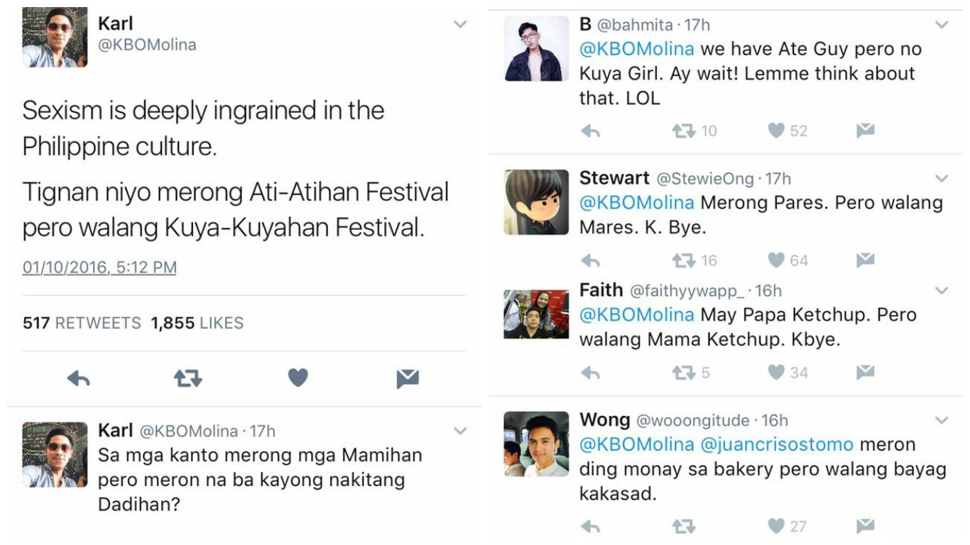 sexism in Philippine culture