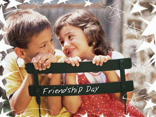 Boy and girl in friendship cute friends