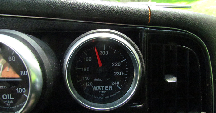 auto-meter-water-temperature-mechanical-gauge-installed-saab-900 And Tube Wiring Gauge on power gauge, paint gauge, arduino gauge, alternator gauge, filter gauge, oil gauge,