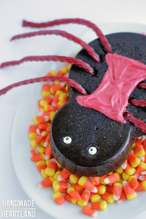 Halloween Spider Brownies