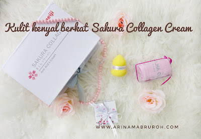 Sakura Collagen Anti Age's Cream untuk kulit lebih kenyal