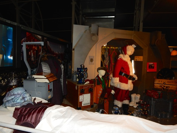 Doctor Who Last Christmas costumes and props