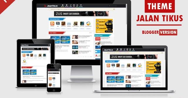 Download Template Jalan Tikus Blogger Template V3