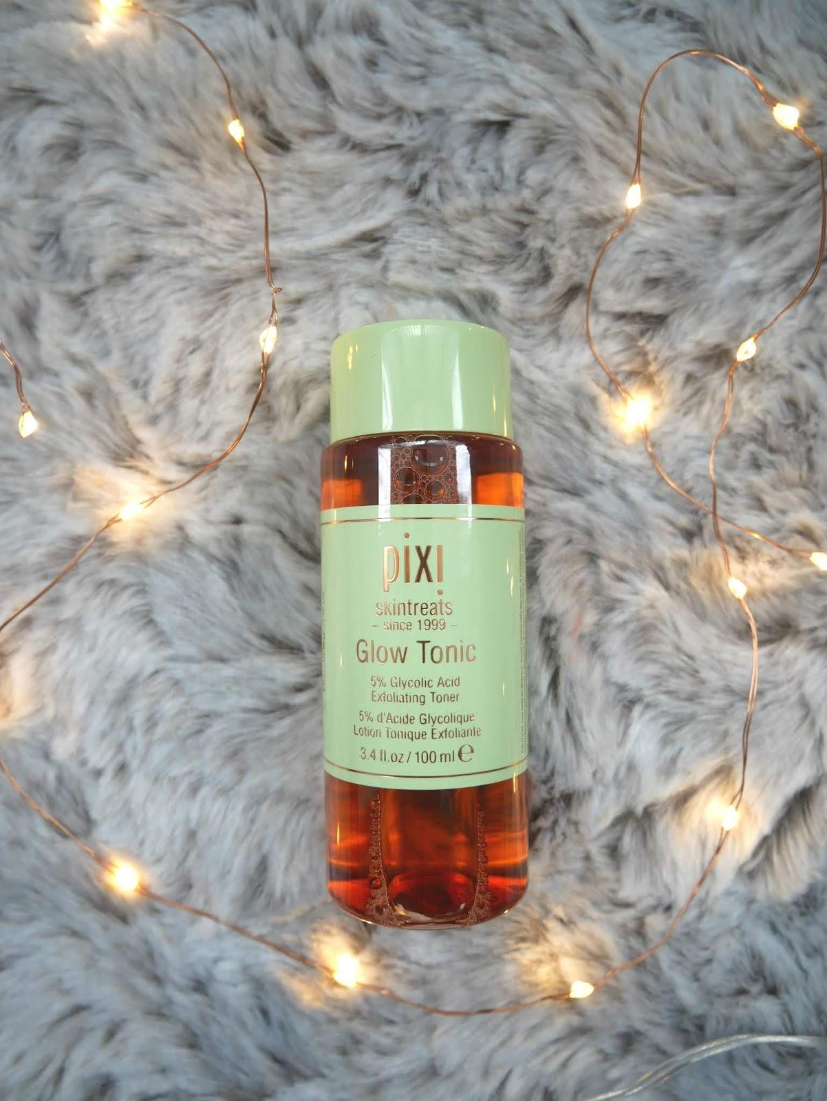 pixi glow tonic acne