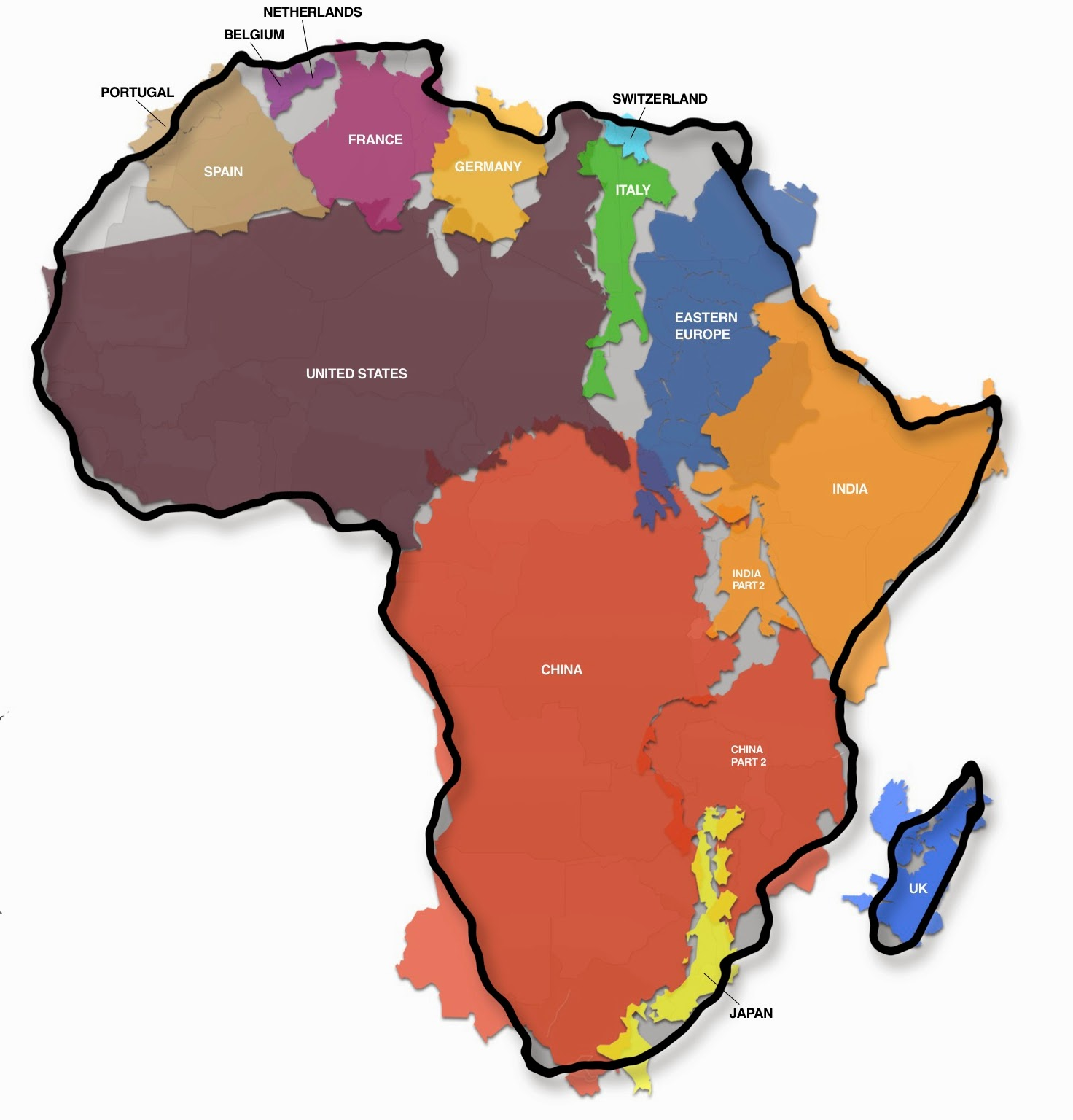 Africa - the biggest continent