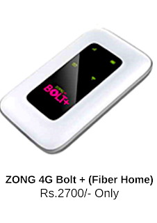 Zong 4G Bolt + (Fiber Home) - Specifications, Review & Price in Pakistan