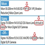 Compatible-Nikon-D3100-lenses