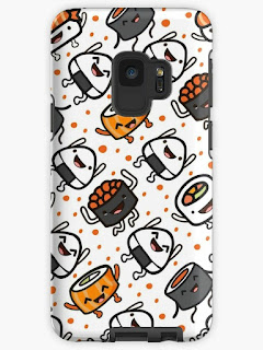 buy popular dee35 cb25c Plushism: #Sold Sushi Party Samsung Galaxy S9 Tough Case @redbubble
