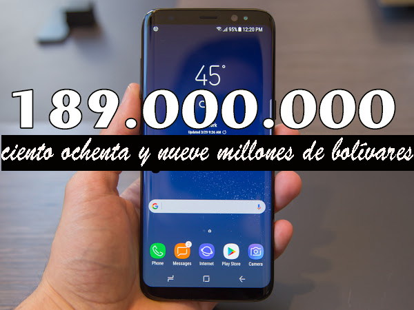 Un teléfono celular en Venezuela vale 764 salarios mínimos