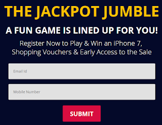 Paytm Jackpot Jumble Game And Get Free Rs.500 Paytm Special Cashback