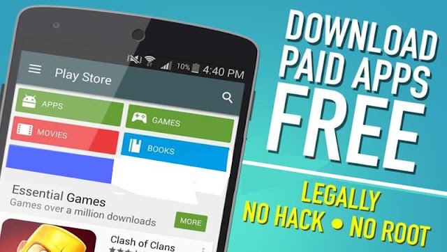 how to download paid apps from google play for free on mobile