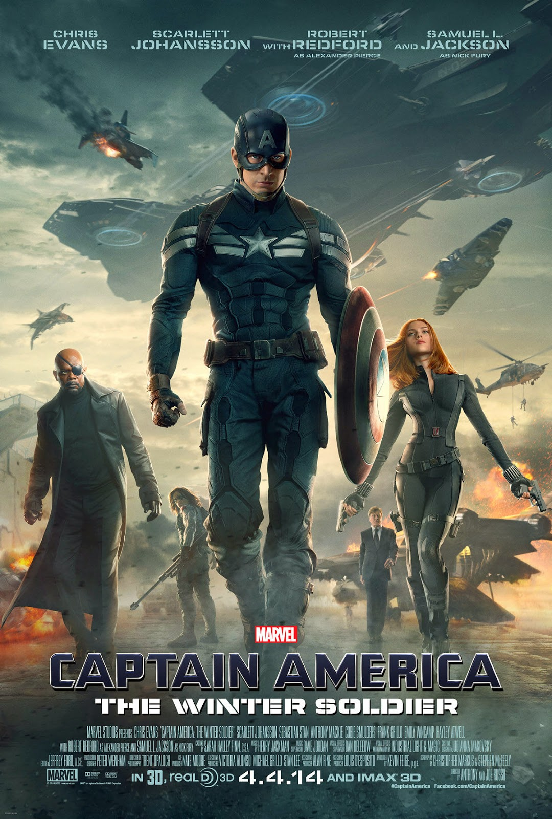 Captain America The Winter Soldier (2014) DVDScr