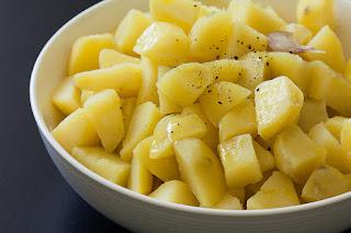 Priprema krompira za pečenje