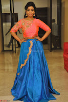 Nithya Shetty in Orange Choli at Kalamandir Foundation 7th anniversary Celebrations ~  Actress Galleries 138.JPG