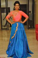 Nithya Shetty in Orange Choli at Kalamandir Foundation 7th anniversary Celebrations ~  Actress Galleries 138.JPG