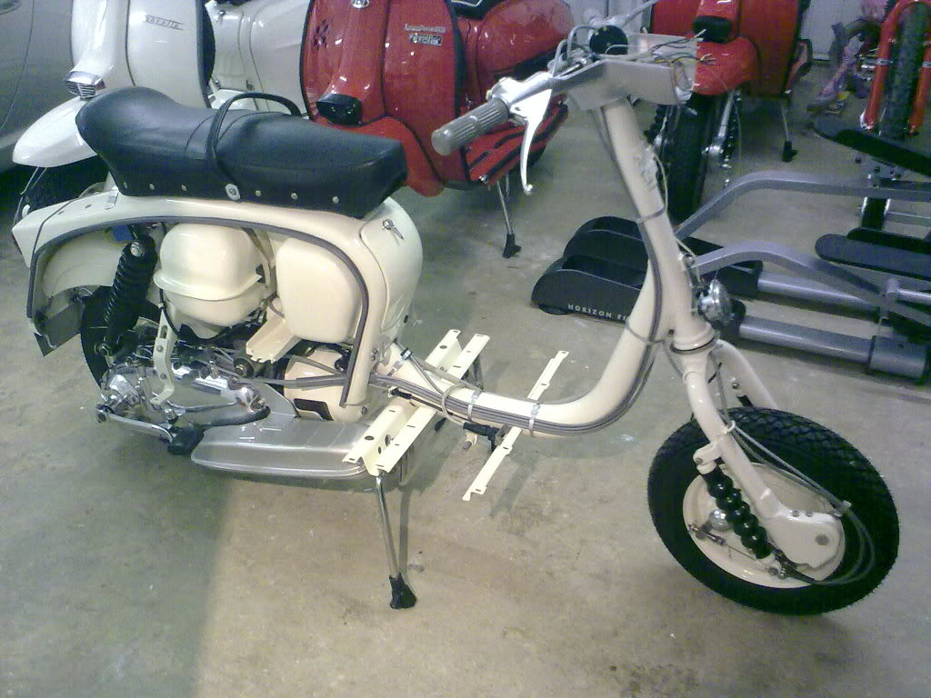 Lambretta Model Tv Range Vespa Scooters Series Iii Electronic Ignition Installation Peter Agg Ceo Ltd Distributor In The Uk Went To Get Machine Innocenti Higher Speed Over Quality
