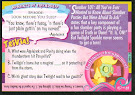 My Little Pony Slumber Party 101 Series 1 Trading Card