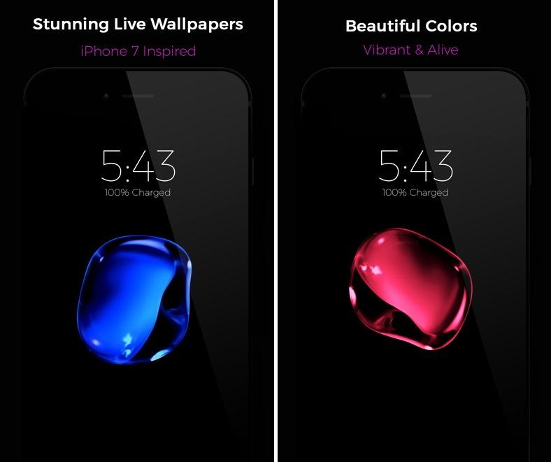 Black Live Wallpaper Iphone 3d Android Wallpaper