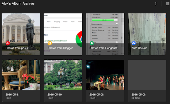 Google Album Archive Lets You See Download Or Delete Photos From Picasa Web Albums Google Blogger Hangouts Google Drive And Google Photos