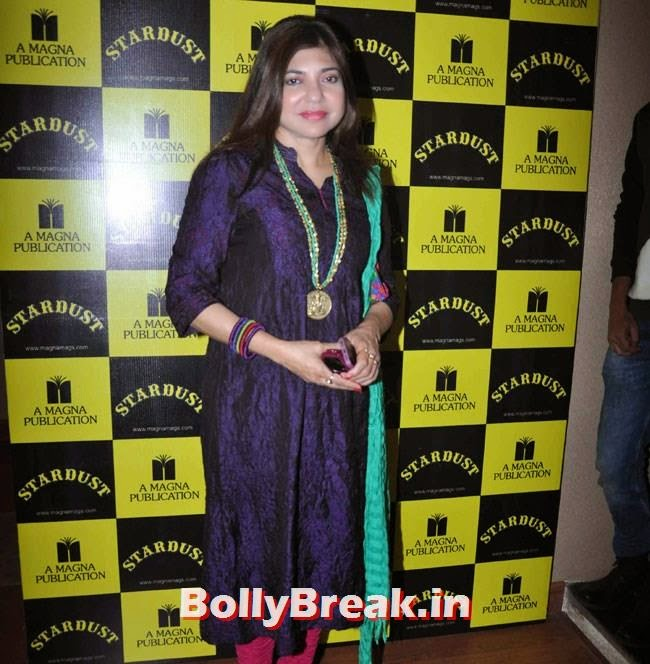 Alka Yagnik, Alka Yagnik Latest Images from Stardust`s London Concert